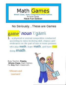 Math Games...No Seriously, These Are Games - Winners and Learners