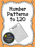 Math Games: Number Patterns to 120 Game FREEBIE