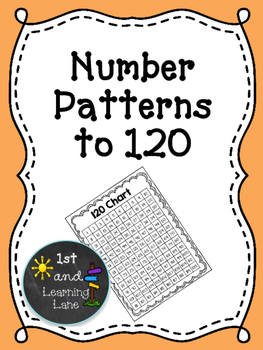 Math Games: Number Patterns to 120 Game FREEBIE