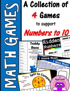 Math Games- Numbers to 10