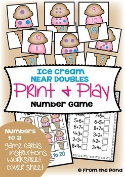 Math Games - Numbers to 20 Ultimate Pack 1 - Print and Play