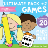 Math Centers /  Games - Numbers to 20 Ultimate Pack 2 Pack