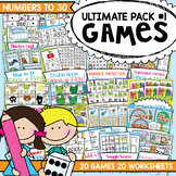 Math Centers and Games for Numbers to 30