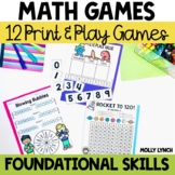 Math Games - Print & Play