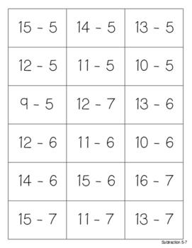 Math Games Series - Matching Games