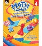 Math Games: Skill-Based Practice for Fourth Grade