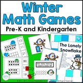 Winter Math Games for PreK and Kindergarten