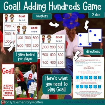 Math Games - 7 BINGO Games with Sports Themes