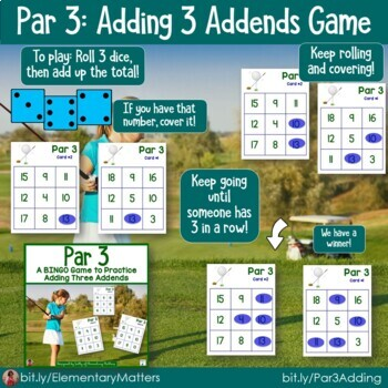Math Games   7 BINGO Games Bundle with Sports Themes