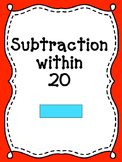 Math Games: Subtraction within 20