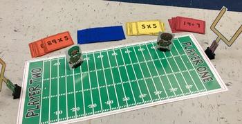 Math Games, Football Math, Math Centers, Multiplication Games, Super Bowl Math