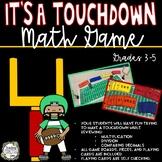 Math Games, Football Math, Math Centers, Multiplication Ga