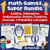 Math Games Super Bundle (150 Pages!)