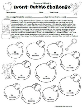 Math Games Super Bundle (150 Pages!)