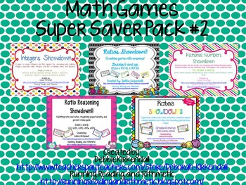 Math Games Super Saver Pack #2