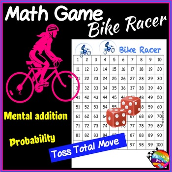 Math Center Games Teach ADDITION and PROBABILITY Dice Game