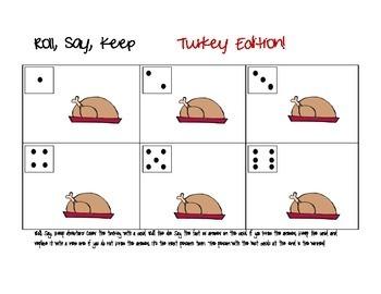 Math Games Turkey Edition, Thanksgiving