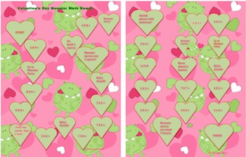 Valentine's Day Math and Literacy Games! Early Finishers + Centers! Printables!