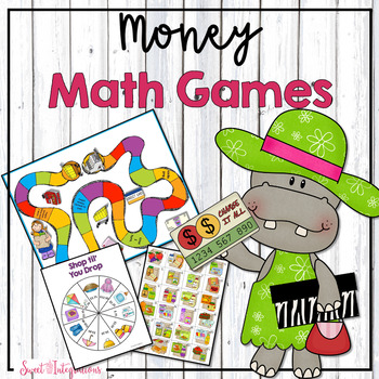 MONEY MATH GAMES (MATH CENTERS)