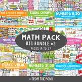 Math Games and Activities Bundle 3 {Math Activity Packs 19-27}