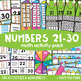 Math Games and Activities Bundle 3 {Math Activity Packs 19-27}