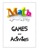 Math Games and Activities Printable Packet