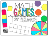 Math Games and Centers BUNDLE