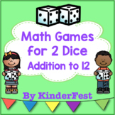 Math Games for 2 Dice: Addition to 12
