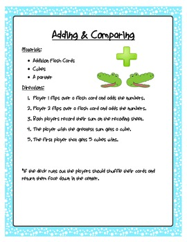 Math Games for Common Core