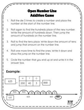 Addition Strategies Games