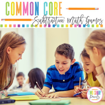 Math Games for Common Core Subtraction Strategies