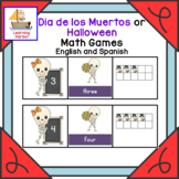 Math Games for Dia de los Muertos or Halloween