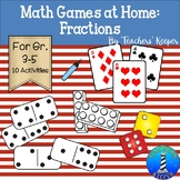 Math Games for Home: Fractions (Distance Learning)