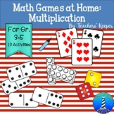 Math Games for Home: Multiplication (Distance Learning)