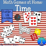 Math Games for Home: Time (Distance Learning)