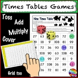 Math Games for Learning Multiplication TIMES TABLES Ideal