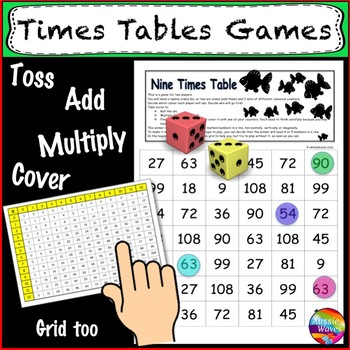 Times Tables Math Games For Multiplication