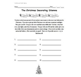 Math Games for Middle School - The Christmas Decorating Dilemma