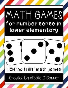 Math Games for Number Sense