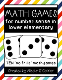 Math Games for Number Sense