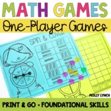 Math Games for One