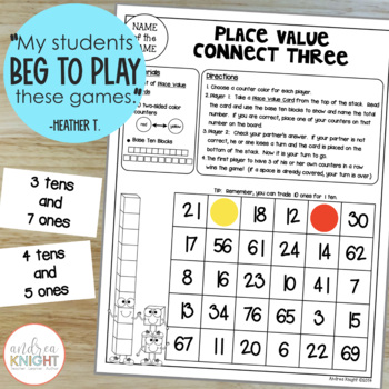 Math Games for Partners  {Grades 1-2}