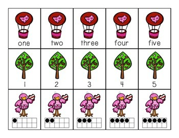 Math Games for Valentine's Day
