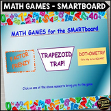 Math Games for the SMARTboard - 3 Popular Games