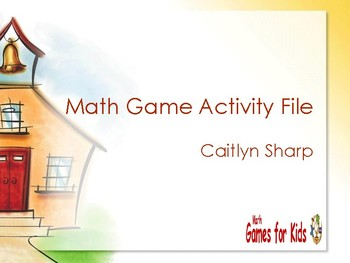 Math Games list from K-5
