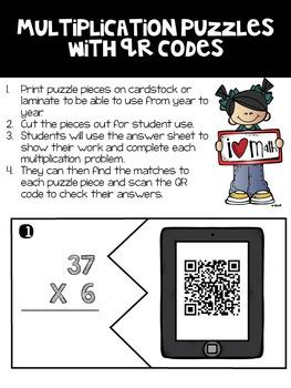 Math Games with QR Codes