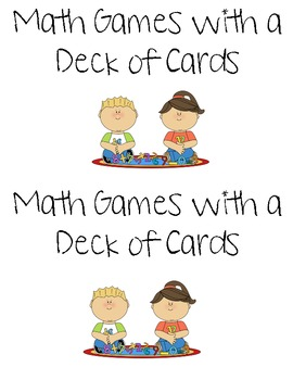 Math Games with a Deck of Playing Cards