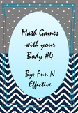 Math Games with your Body #4 - Addition (Number Bonds) Ele