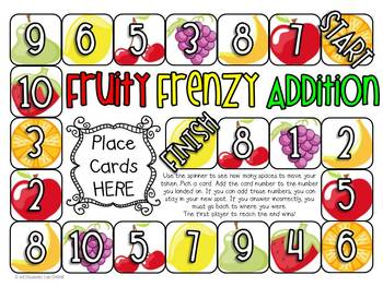 Math Games/Centers - Addition