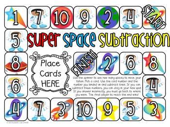 Math Games/Centers - Subtraction